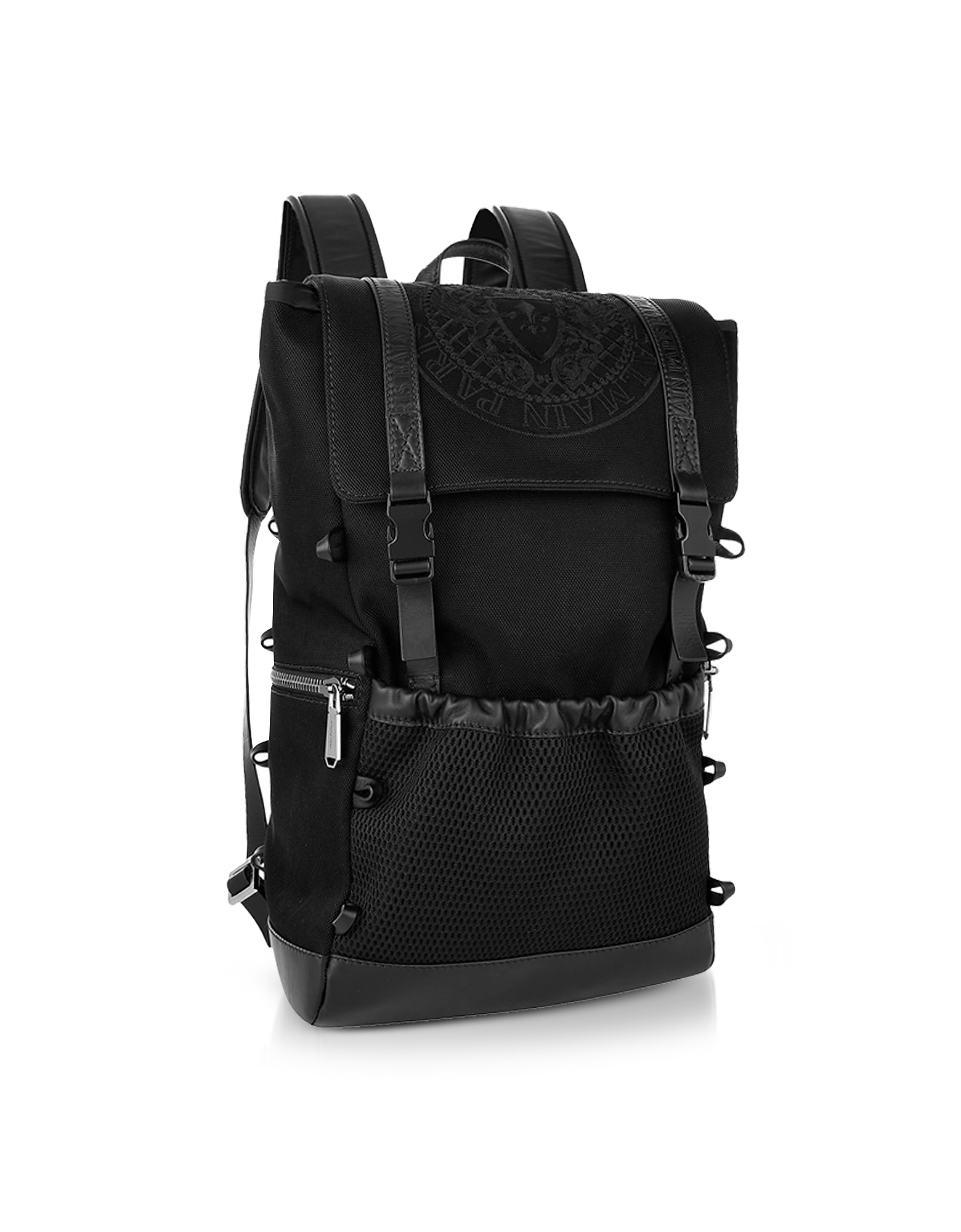 Black Nylon Men's Climb Backpack от Forzieri.com INT
