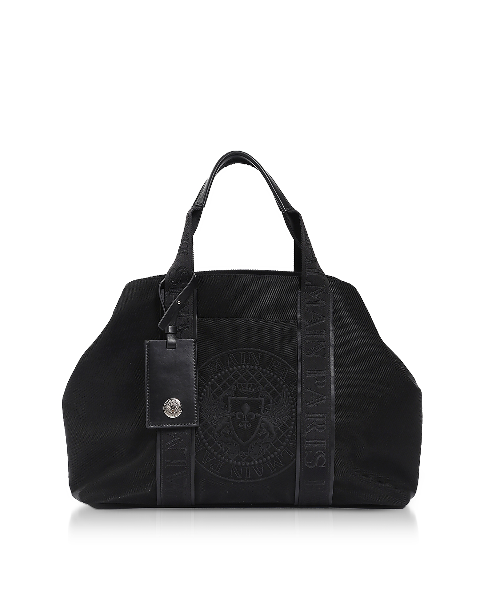 Balmain Men's Bags, Black Nylon Men's Tote Bag