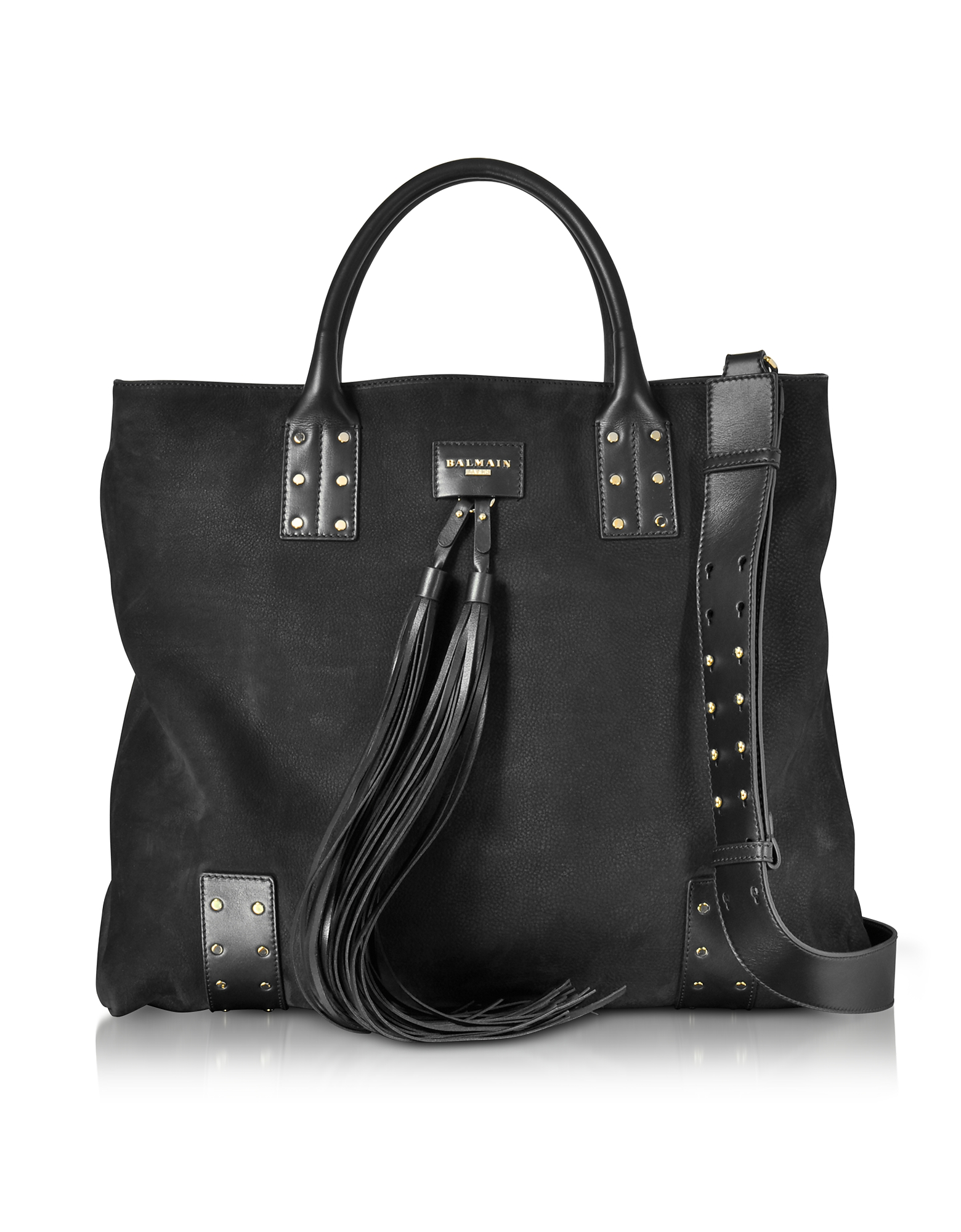 Balmain Men's Bags, Domaine Nubuck Men's Shopping Bag