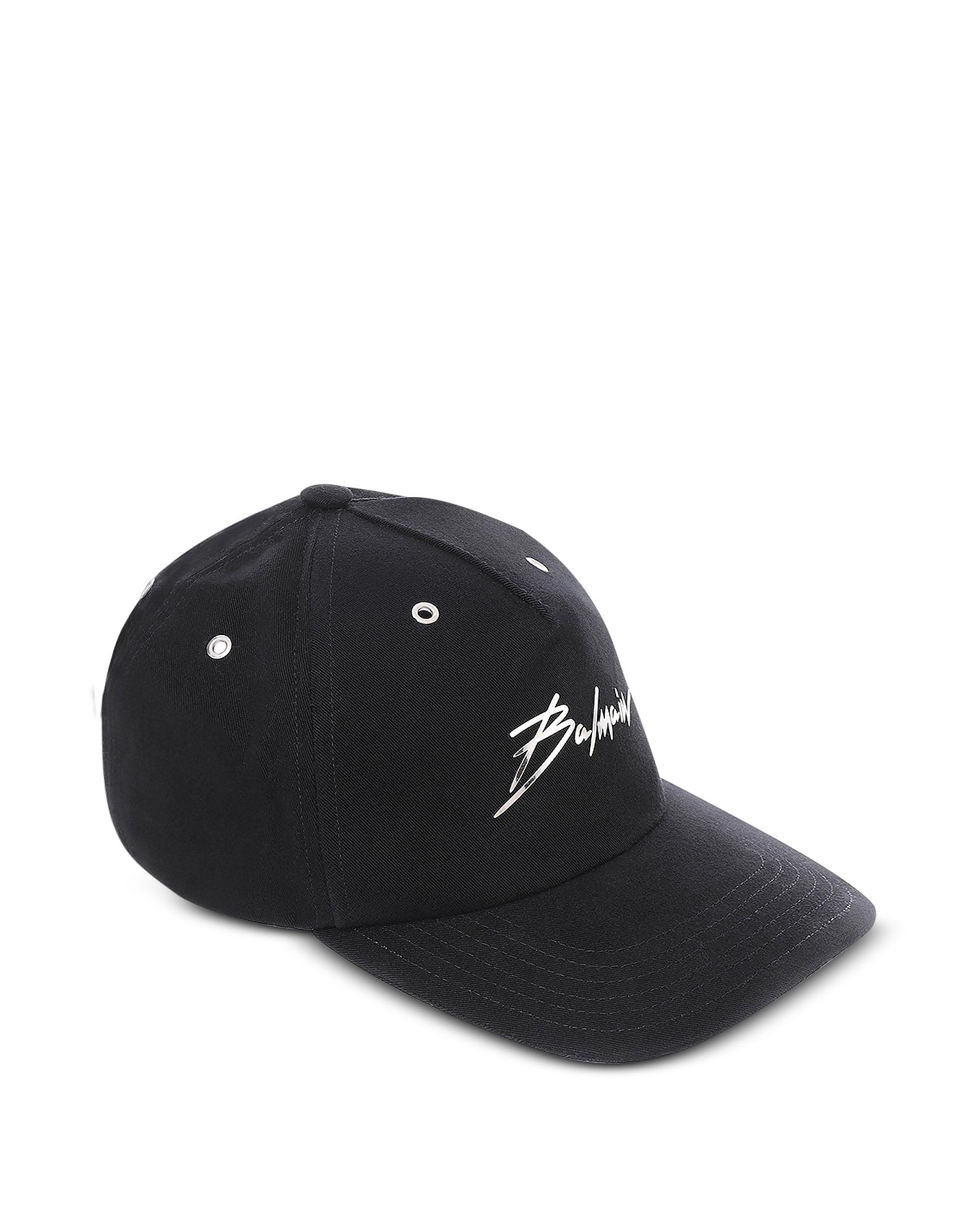 Cotton Signature Baseball Cap