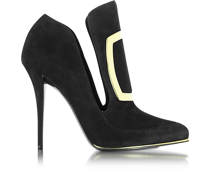 Desiree Black Suede Pump - Balmain