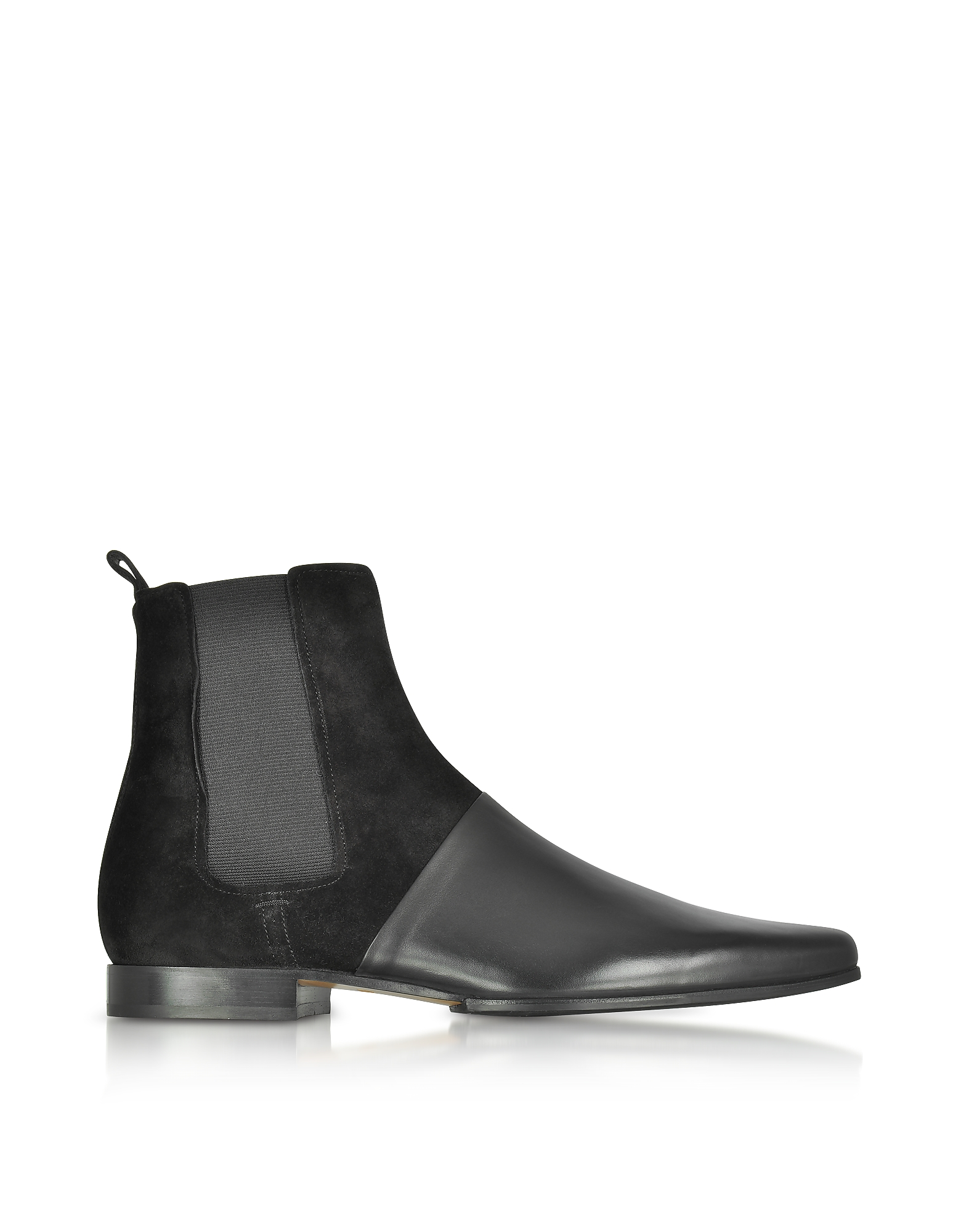Balmain Shoes, Artemis Leather and Suede Men's Ankle Boots
