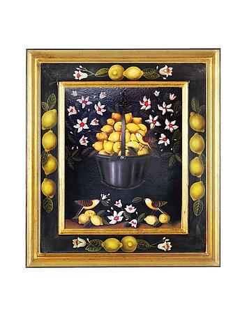 Oil on Canvas Lemons Painting