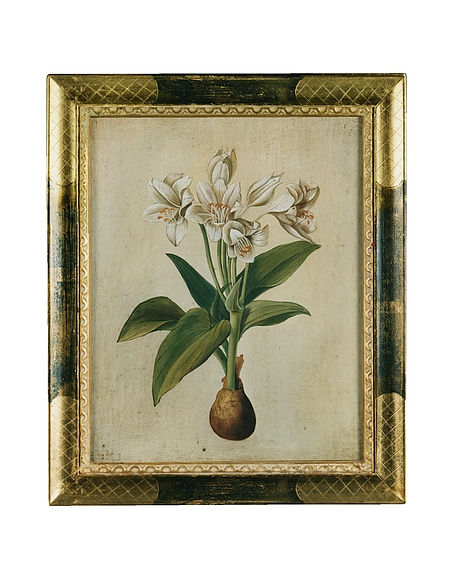 Image of Bianchi Art Works Dipinto a Olio con Fiori Bianchi