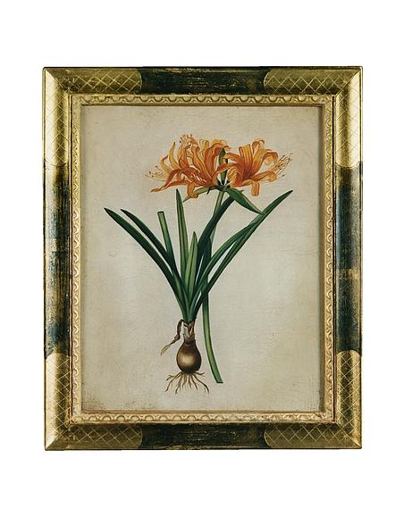 Image of Bianchi Art Works Dipinto a Olio con Fiori Arancione