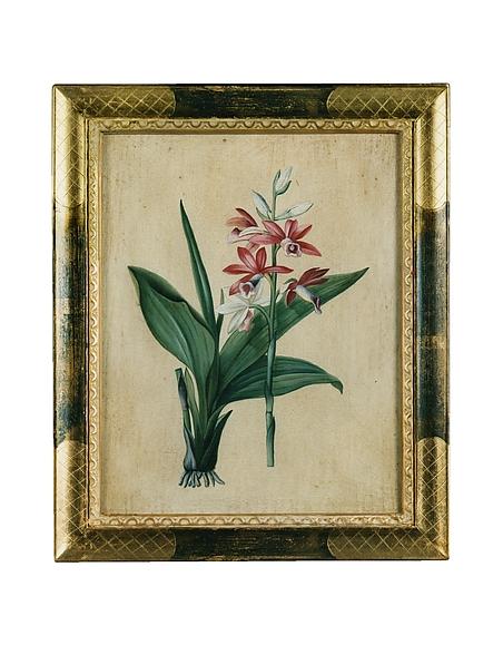 Image of Bianchi Art Works Dipinto a Olio con Fiori Fucsia