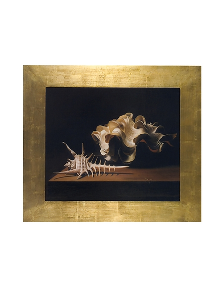 Image of Bianchi Art Works Dipinto a Olio con Due Conchiglie