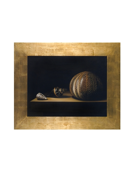 Image of Bianchi Art Works Dipinto a Olio con Conchiglie