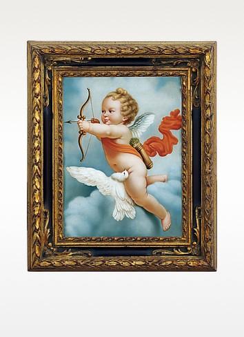 Bianchi Arte Картина с Изображением Херувима, Масло на Холсте