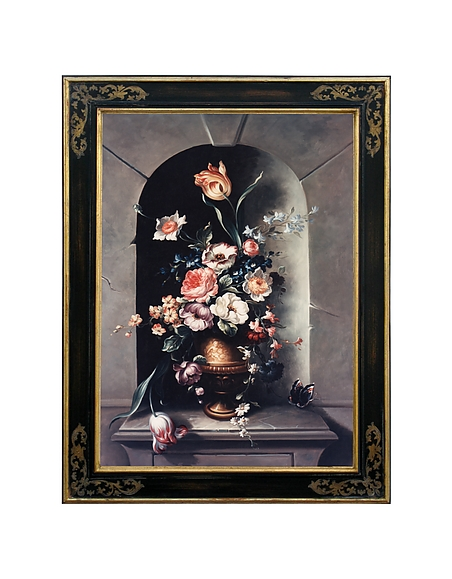 Image of Bianchi Art Works Dipinto a Olio con Rose