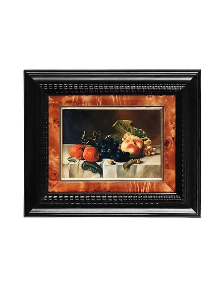 Image of Bianchi Art Works Dipinto a Olio con Frutta su Tavolo