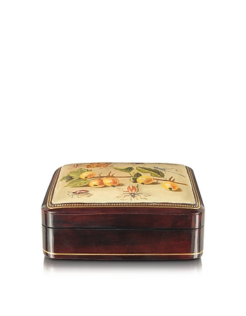 Bianchi Arte - Oil on Leather Mini Jewelry Box