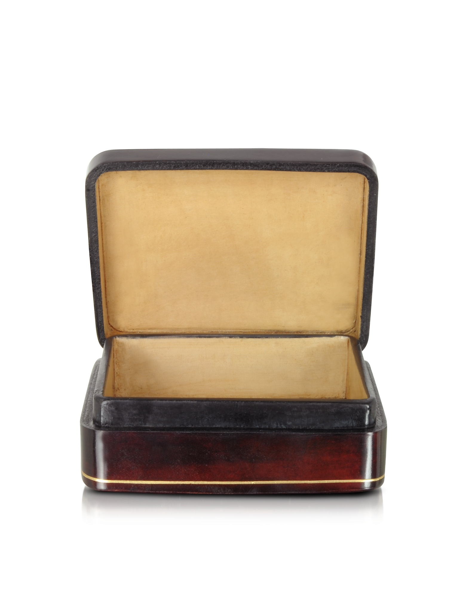 Oil on Leather Mini Jewelry Box от Forzieri.com INT