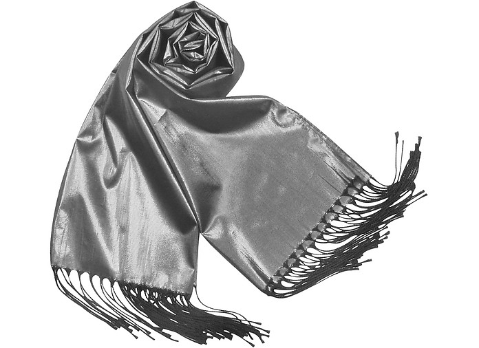 Shimmering Metallic Evening Stole - Basile