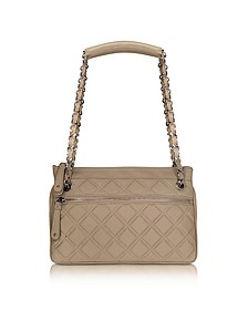 Quilted Leather Shoulder Bag - Buti