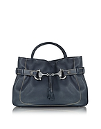 Buti Bauletto in Pelle Alce Blu Navy - buti - it.forzieri.com