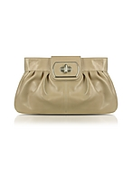 Buti Clutch in Pelle Beige - buti - it.forzieri.com