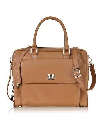 Buti - Light Brown Leather Business Folio