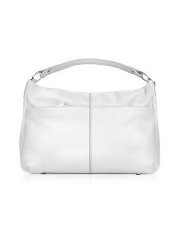 Buti Pebbled Calf Leather Hobo Bag