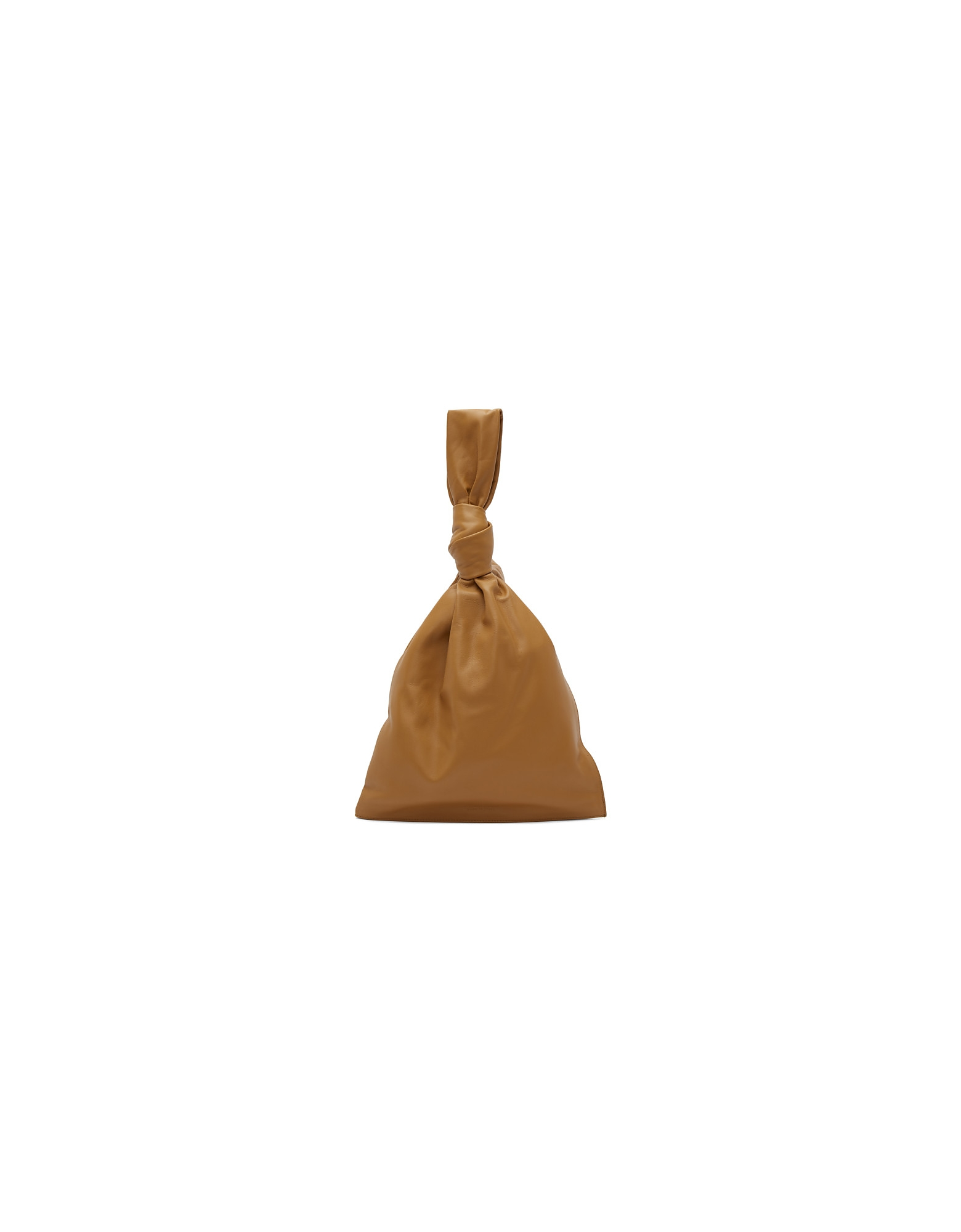 Bottega Veneta Designer Handbags, Brown Twist Pouch