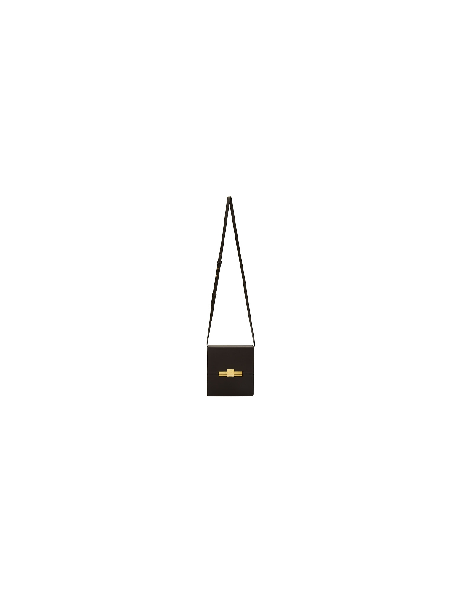 Bottega Veneta Designer Handbags, Brown Daisy Cigarette Box Clutch Bag