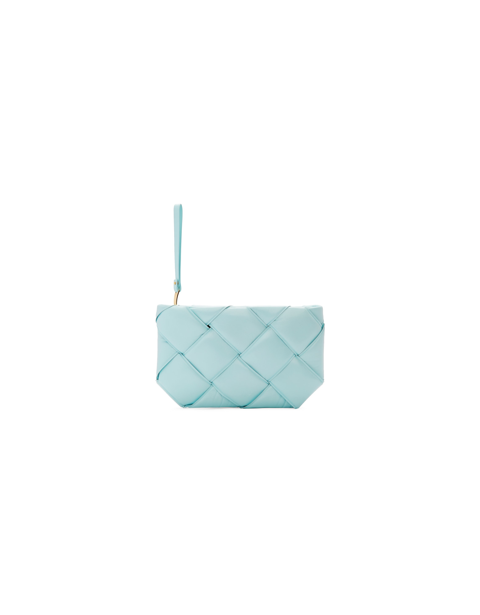 Bottega Veneta Designer Handbags, Blue Padded Pouch