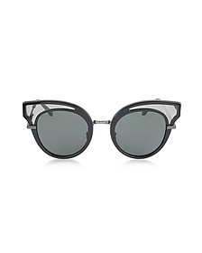 BV0094S Acetate Cat Eye Women's Sunglasess - Bottega Veneta