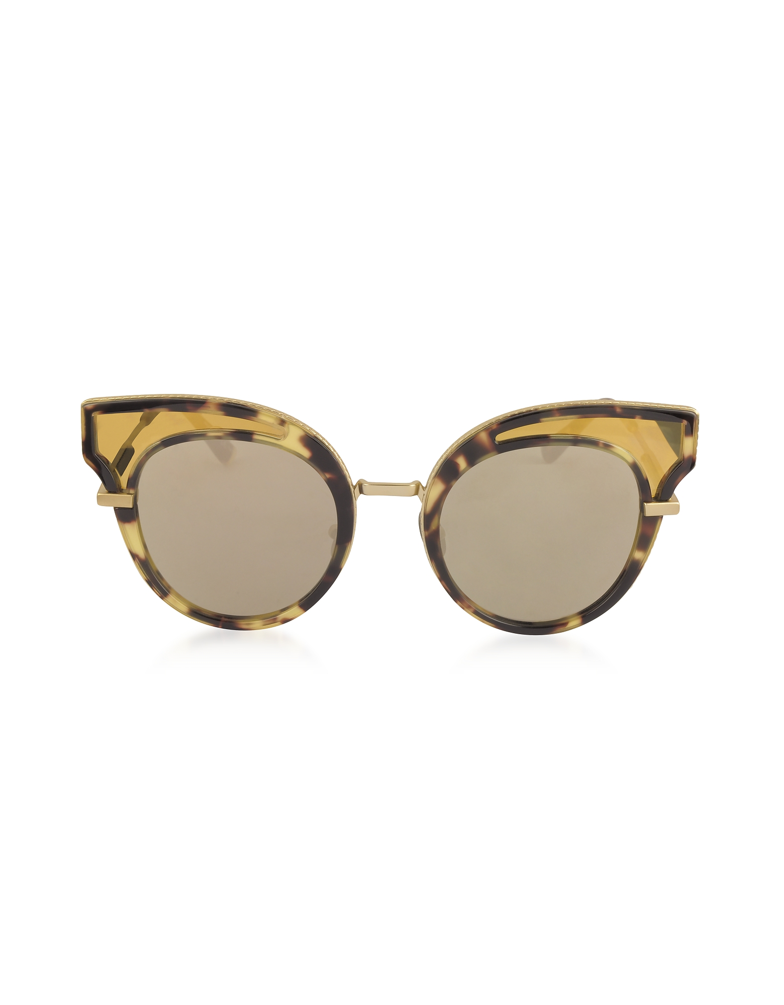 Bottega Veneta Sunglasses, BV0094S Acetate Cat Eye Women's Sunglasses