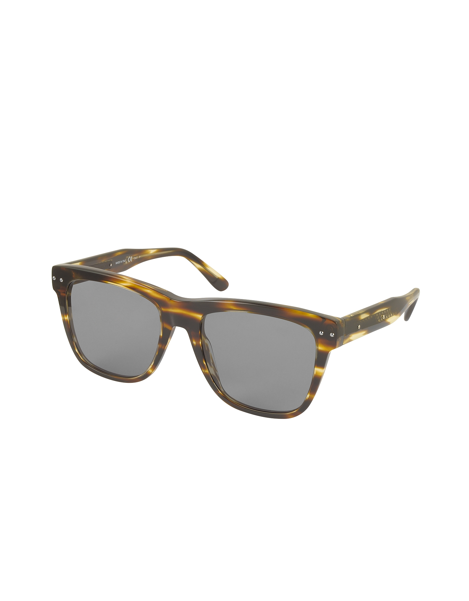 BV0098S 002 Light Havana Acetate Frame Unisex Sunglasses от Forzieri.com INT