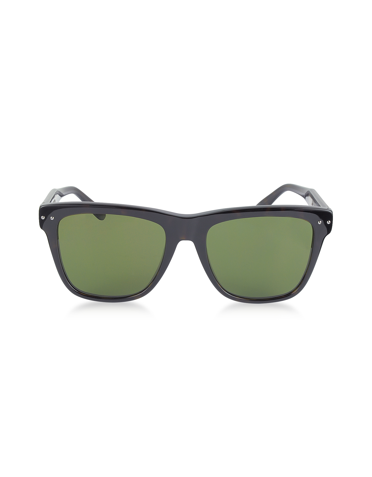 Bottega Veneta Sunglasses, BV0098S 005 Light Havana Acetate Frame Unisex Sunglasses