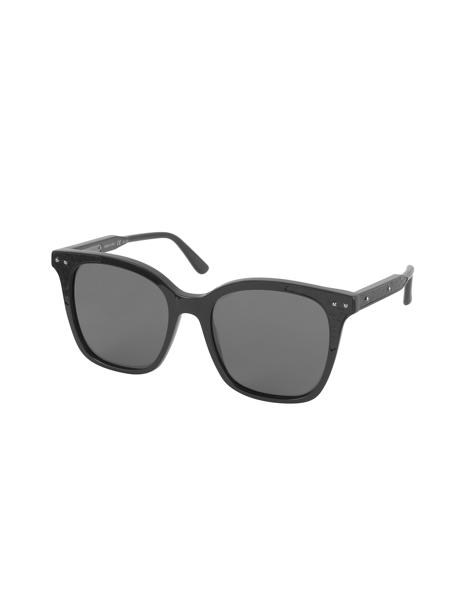 BV0118S 005 Black Acetate Frame Women's Sunglasses от Forzieri.com INT