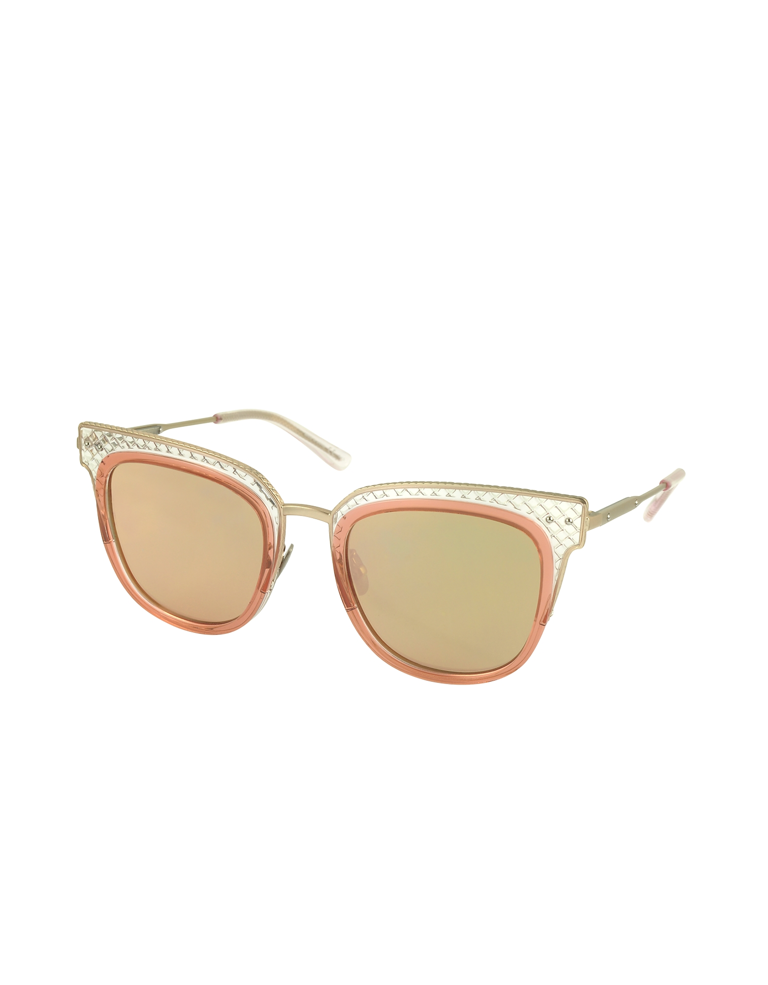 BV0122S Square Acetate Frame Women's Sunglasses от Forzieri.com INT