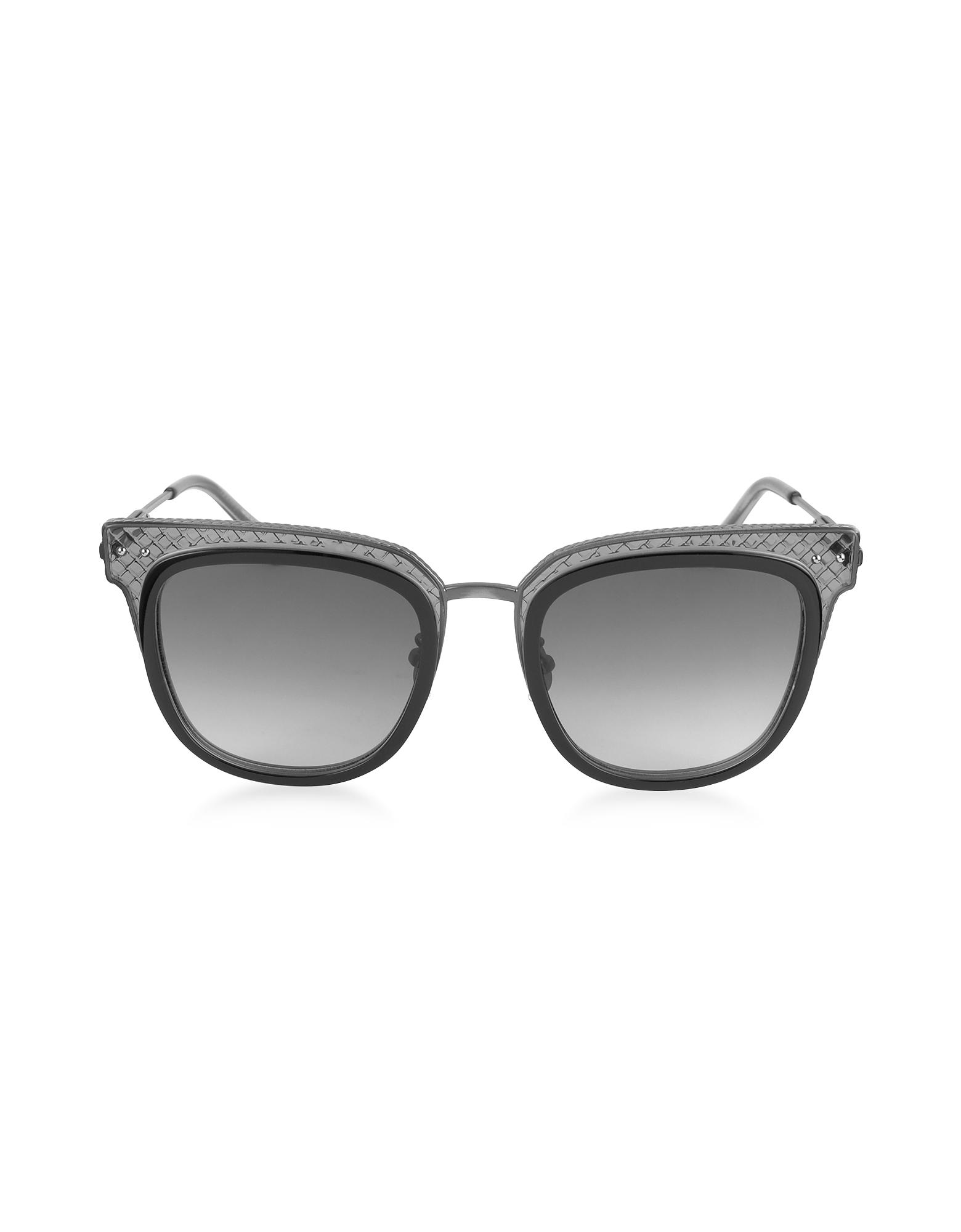 BV0122S - Женские Солнечные Очки в Квадратной Оправе из Ацетата