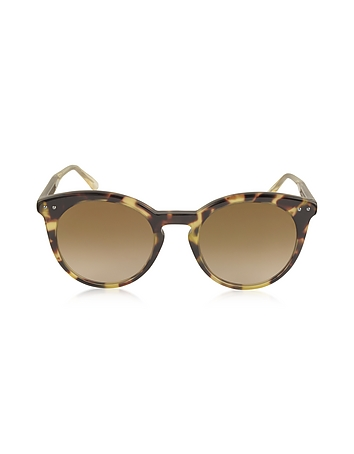 Bottega Veneta - BV0096S Round Acetate Women's Sunglasses