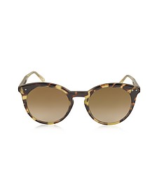 BV0096S Round Acetate Women's Sunglasses - Bottega Veneta
