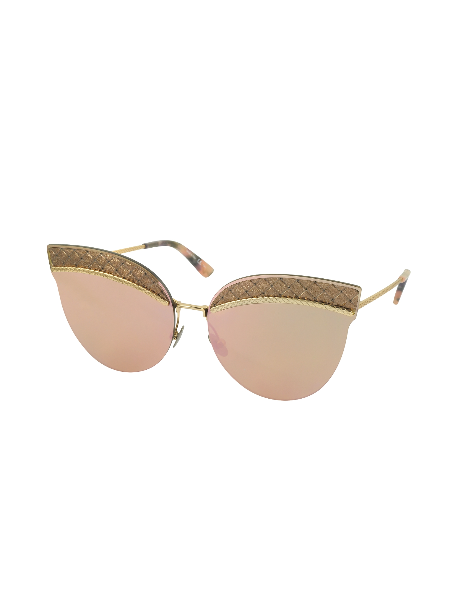 BV0101S Metal Cat-Eye Women's Sunglasses от Forzieri.com INT