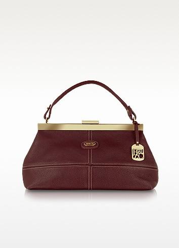 Cervo - Leather Satchel Bag - Bric's