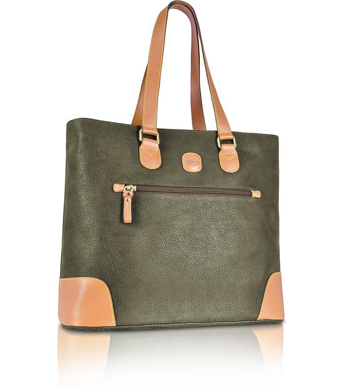 Life - Medium Zippered Tote Bag  - Bric's