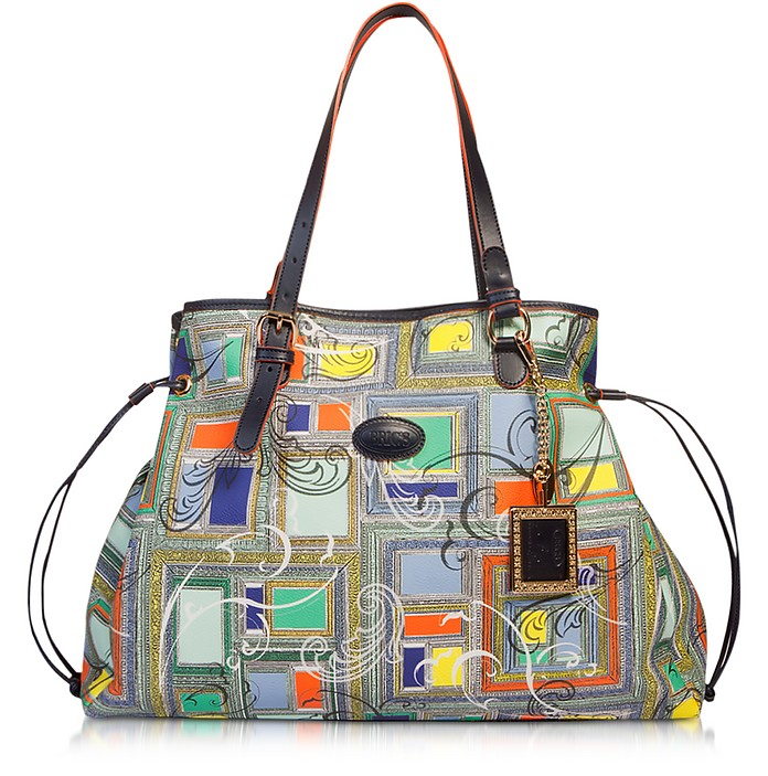 Oversize Eco Leather Tote Bag - Bric's