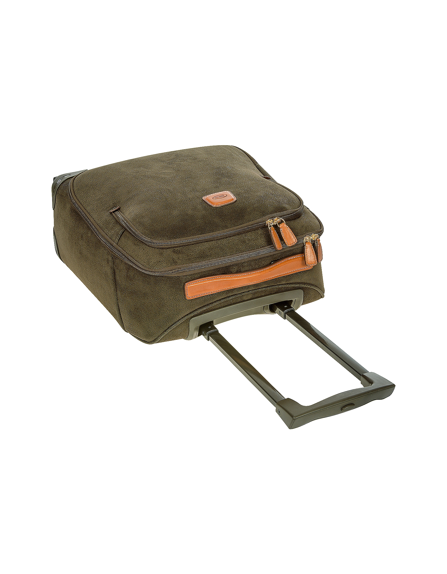 Life Olive Green Micro Suede X-Small Trolley от Forzieri.com INT