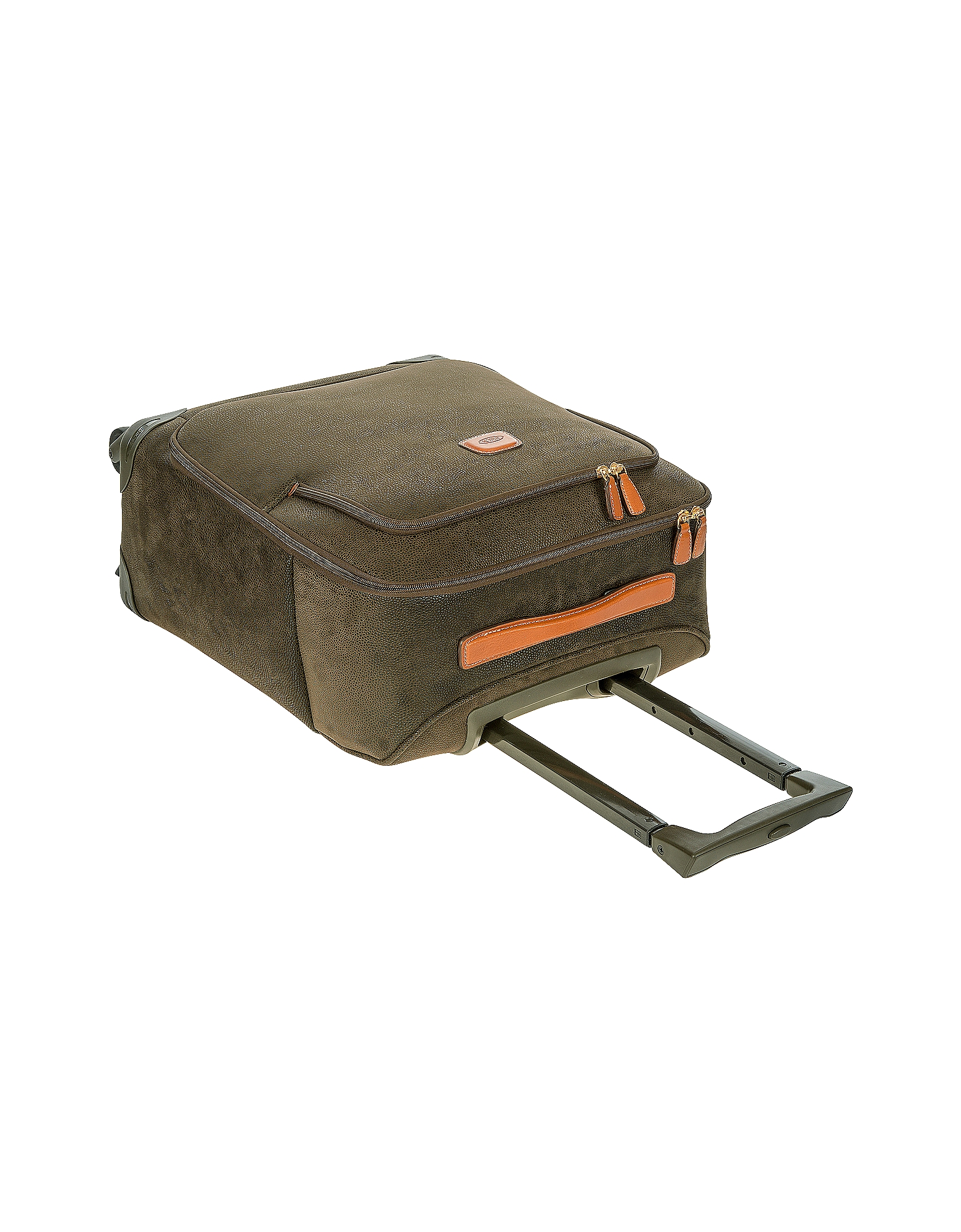 Life Olive Green Micro Suede Small Trolley от Forzieri.com INT
