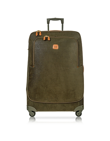 Life Olive Green Micro Suede X-Large Trolley