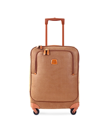 Life Camel Micro Suede Small Trolley