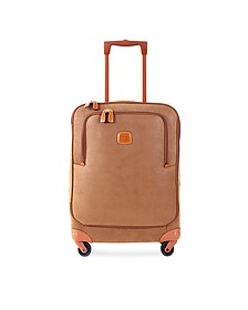 Life Camel Micro Suede Small Trolley - Bric's