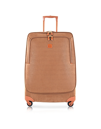Life Camel Micro Suede Large Trolley