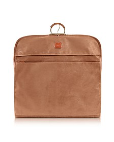 Life Camel Micro-Suede Garment Bag - Bric's