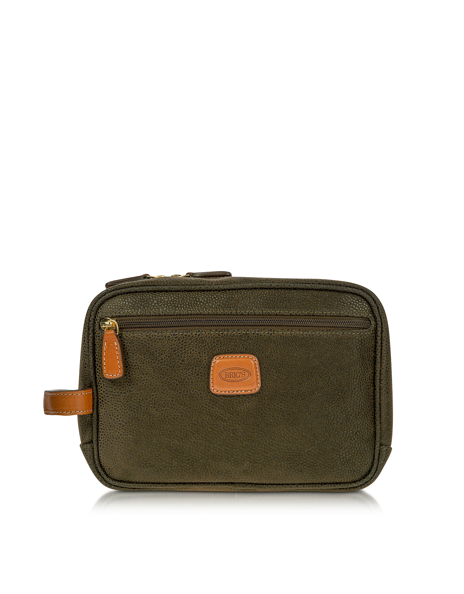 Life - Olive Green Micro Suede Travel Case