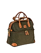 Life - Olive Green Micro Suede Beauty Case Bag - Bric's