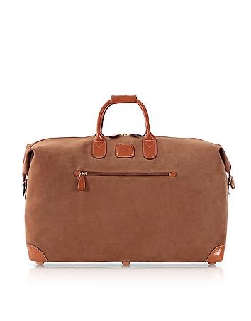 Life Camel Micro-Suede 22'' Duffle Bag