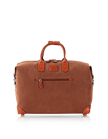 Life Camel Micro Suede 18'' Duffle Bag